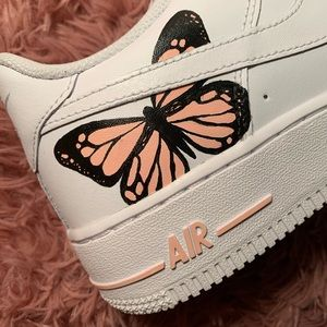 Custom painted butterfly af1 Air Force 1